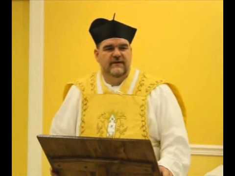 Sermon - Fr. Joseph Pfeiffer, January 23, 2016