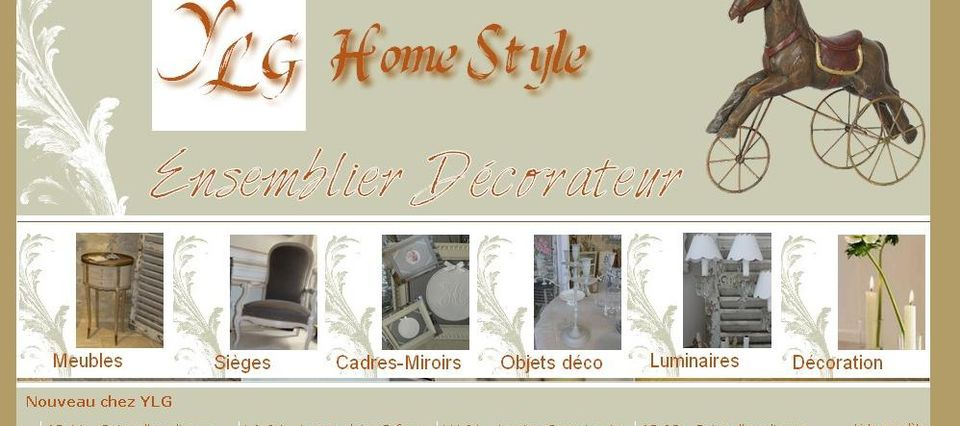 "Relooking blog-boutique ""YLG-Home Style"" - Overblog"