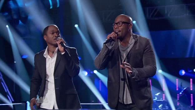 "The voice S02 The Battle rounds: Anthony Evans Vs Jesse Campbell ""If I Ain't Got You"""