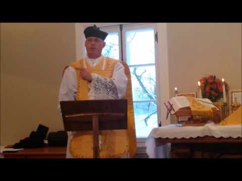 Father Hewko's sermon, January 28th, 2017