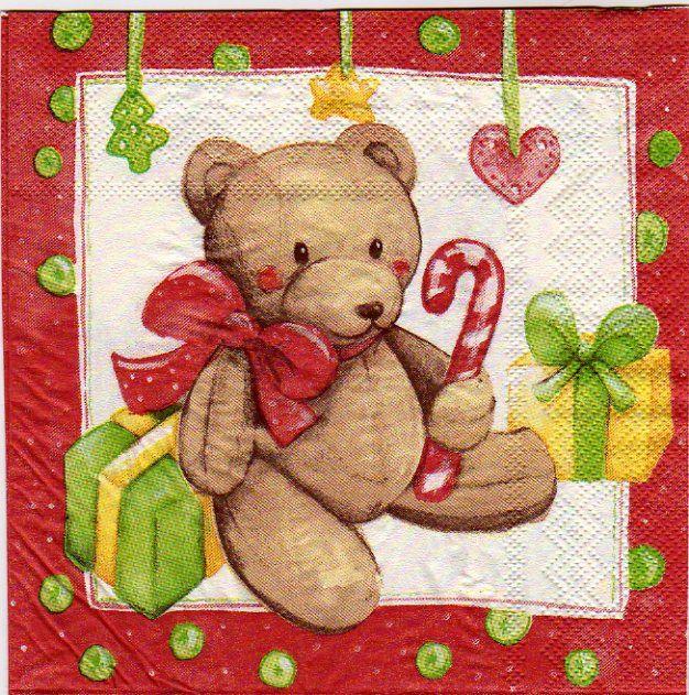 Serviette papier Noël pour la décoration http://fournitures-loisirs.les-creatifs.com/serviettes.php?sfam=Noel