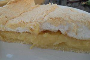 La meilleure tarte au citron meringuée