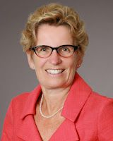 A Special Message From Kathleen Wynne, The Premiere Of Ontario...