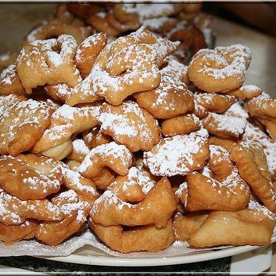 Recette des beignets de carnaval (Vosges)