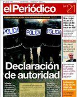 Espagne: régressions