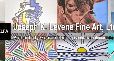 Visit Guaranteed Authentic Art on eBay from Joseph K. Levene Fine Art, Ltd.