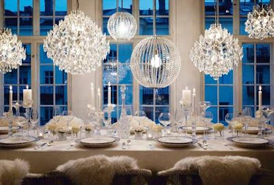 Winter Themes Wedding Decoration Idea