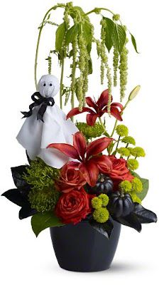 Halloween Flowers: Spooky flower displays for Halloween