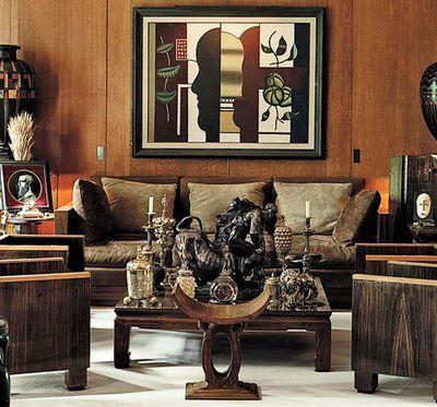 Influence de l'Afrique dans la décoration d'intérieur