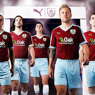 Nueva Puma camiseta del Burnley 2015 2016