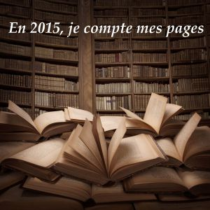 Challenge en 2015 je compte mes pages