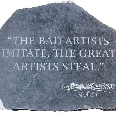 Picasso revisited by Banksy