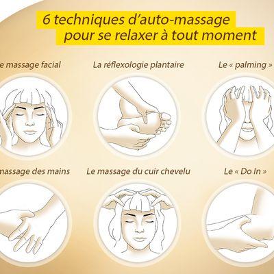 Pratiquer l'auto-massage facilement