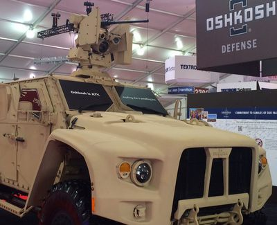 Oshkosh Wins $30 Billion Army Contract Battle to Replace Humvee