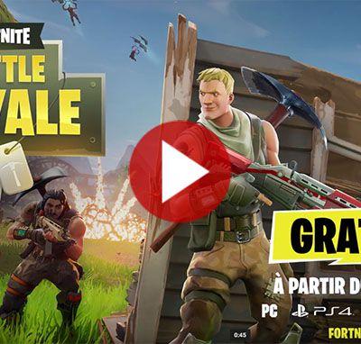 ACTUALITE : Le mode #BattleRoyale de #Fortnite gratuit dès le 26 septembre