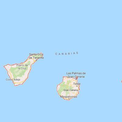 Projet de voyage dans Les Canaries.