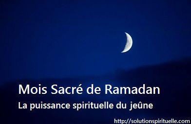 Ramadan 2016: L' importance Du Jeûne Dans La Spiritualité