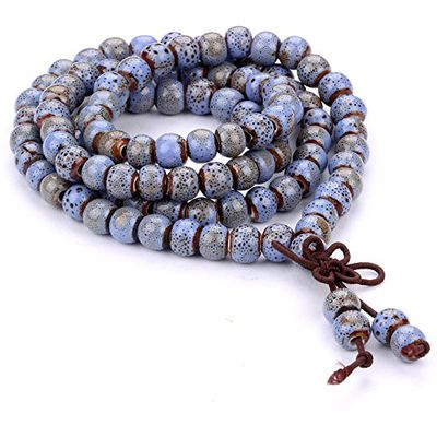 Tibetan Buddhist 108 Beaded Bracelet
