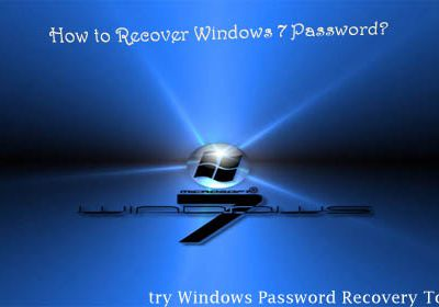 How to Recover Windows 7 Login Password