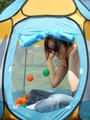Marie dans sa bulle