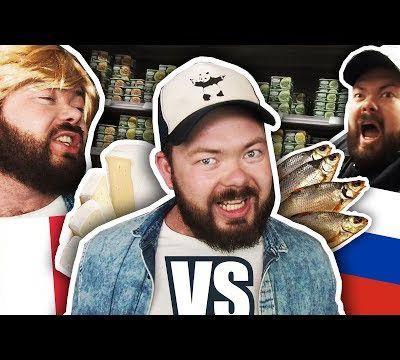 NOURRITURE FRANÇAISE VS RUSSE - Daniil le Russe