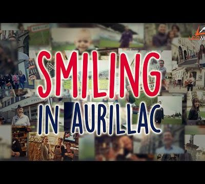 Smiling in Aurillac