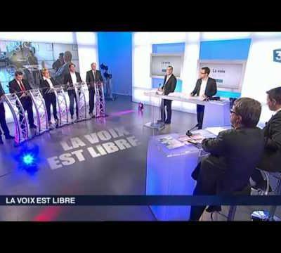 Pour revoir le débat de La Voix est Libre diffusé hier matin sur France3