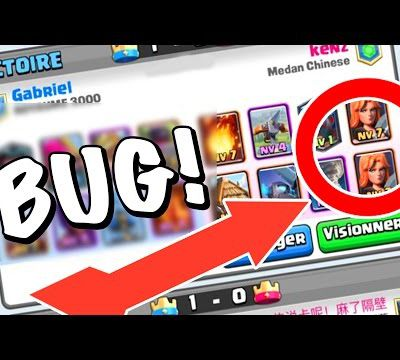 Glitch / Clash Royale : le glitch de la Valkyrie