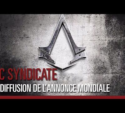 L'annonce d'Assassin's Creed Syndicate !