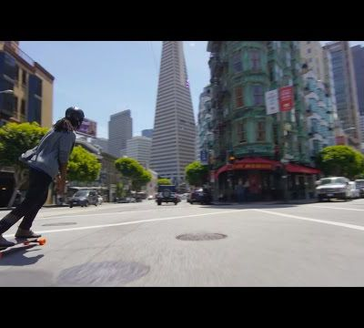 Fun riding by Boosted Boards