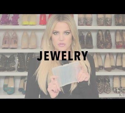 Khloé Kardashian organisation bijoux