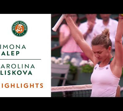 Roland Garros 2017 : Women's Semi-Finals Highlights. (2 videos)