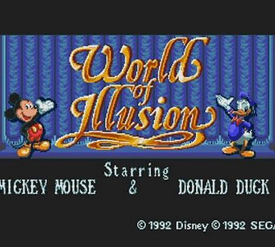 Vidèo test : mickey & donald world of illusion