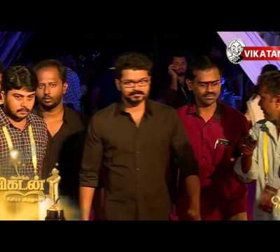 Vijay Entry Vikatan Awards