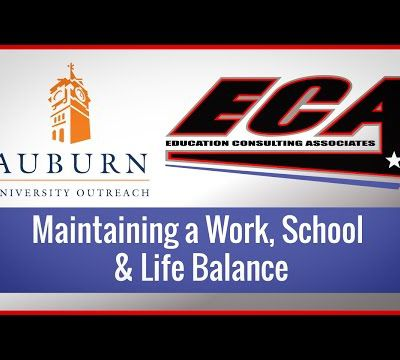 Maintaining a Work, School, and Life Balance