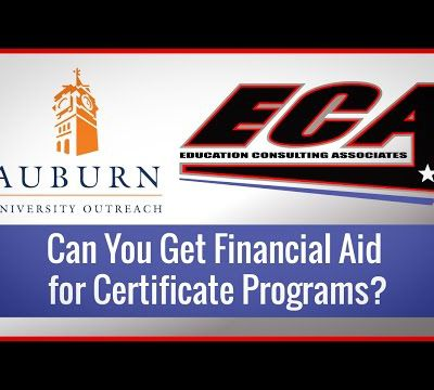 Can You Get Financial Aid For Certificate Programs?