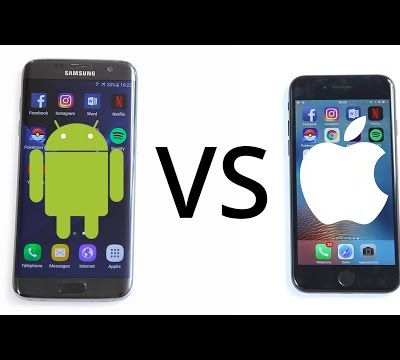 Samsung Galaxy S7 vs Apple iPhone 7