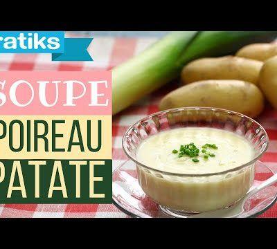 Potage crème de poireaux à l'ancienne