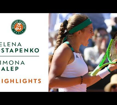 Roland Garros 2017 : Women's Final. Highlights.