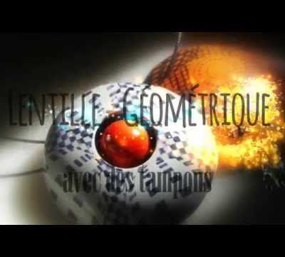 """Tutoriel facile """"Lentille Géométrique avec Tampons"""""""