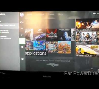 Preview Windows 10 sur Xbox one