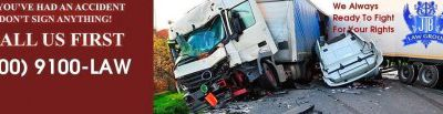 Are You Injured Due To Truck Accident? Call JTB Law Group!