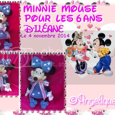 ♡ Minnie Mouse & Coussin Minnie Mouse ♡