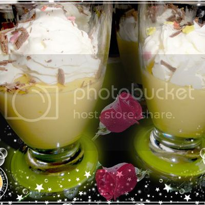 MOUSSE A L' ORANGE ET SA CHANTILLY VANILLEE