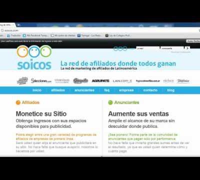 Soicos   Afiliados Argentina   Donpublicar Latinoamerica