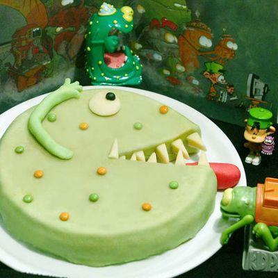 Le gâteau monstre Blork de Kid Paddle