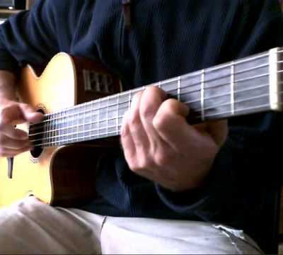 Nathalie's song - TAB & Video lesson