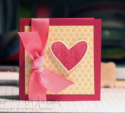 Carte Saint Valentin , Tuto