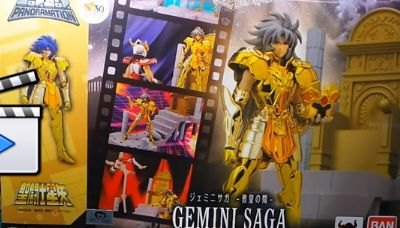 -> Review Saint Seiya DD panoramation Gemini saint Saga