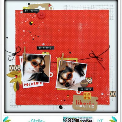 """ So lovely, so ... "" - challenge S192 chez 52 Rue Scrap'Copines"